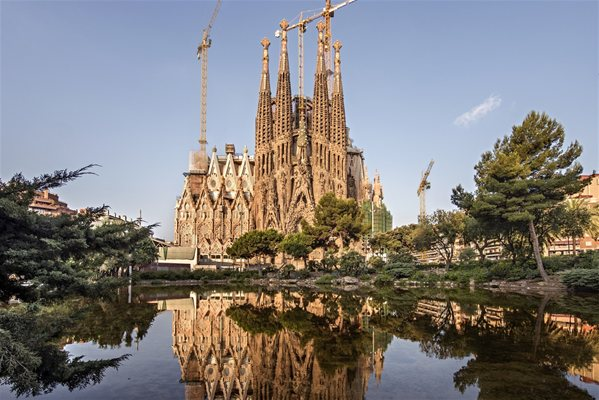 Outokumpu Provides Stainless Steel For Famous La Sagrada Familia Basilica Trade Fair