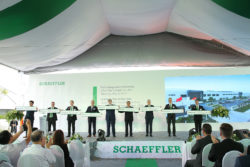 The opening ceremony for the new Schaeffler plant in Vietnam. © Schaeffler